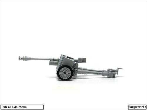 PaK 40 de 75mm. de Panzerbricks