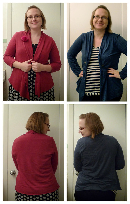 Sewn Cardigans with McCalls 5890