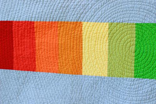 Color Hex Quilt by Jeni Baker