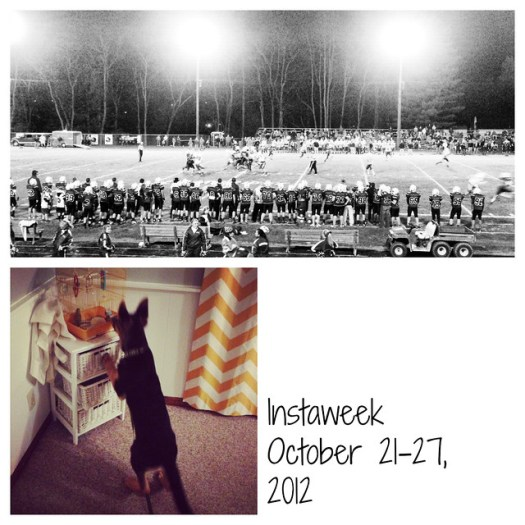 Instaweek October 21-27, 2012