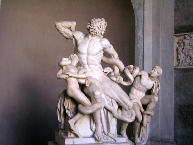 Laooconte y sus hijos