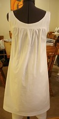 Late Victorian Chemise Back