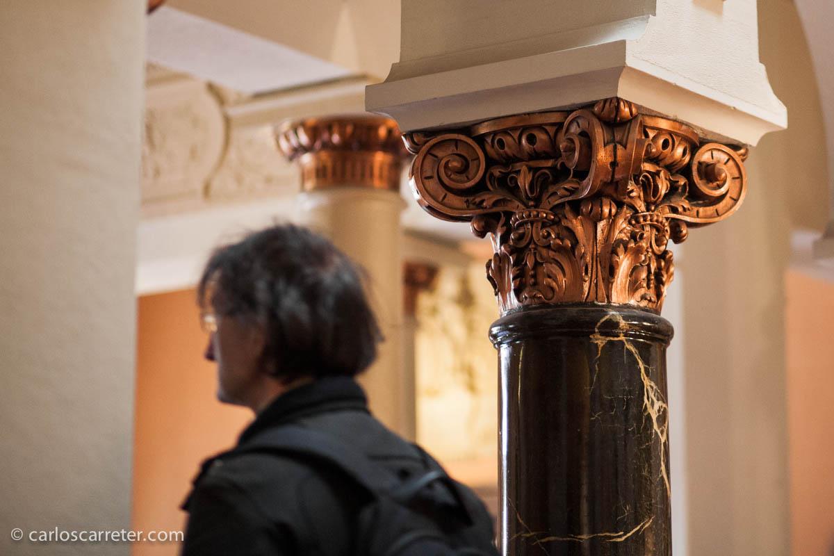 Visita al palacio Larrinaga