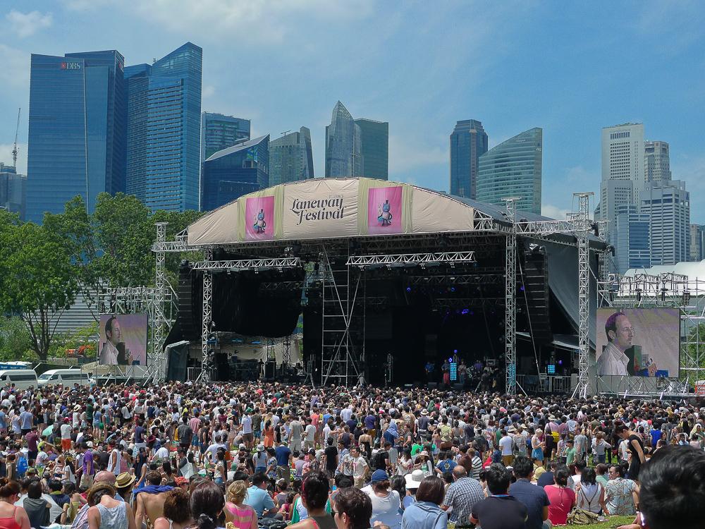 Laneway Festival Crowds
