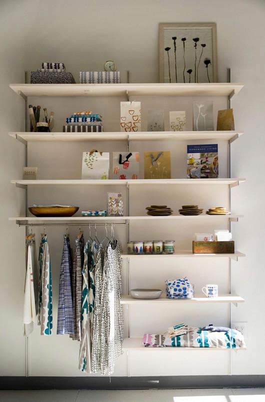 Lotta Jansdotter's Studio in Brooklyn