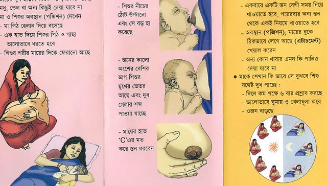 Breastfeeding Pamphlet - MaMoni Bangladesh