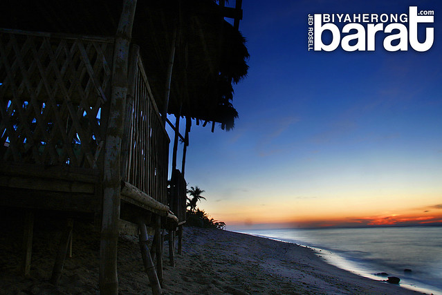 Sunset in Patar Beach Bolinao Pangasinan