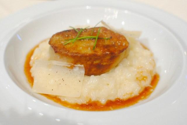foie gras risotto