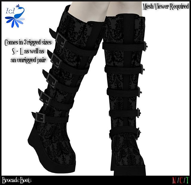 ZcZ Brocade Boots