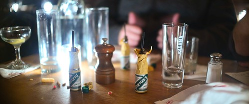 Underberg at midnight.