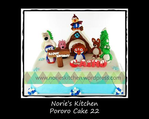 Norie's Kitchen - Pororo Cake 22 by Norie's Kitchen