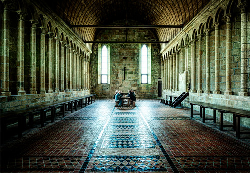 The Secret Room, Deep in the Abbey by Stuck in Customs