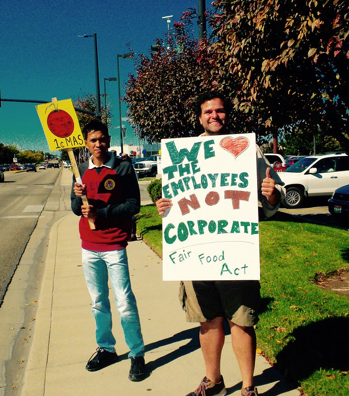 Boise, Idaho CNV 2016 - Wendy's Unfair to Farm Labor Protest (4)