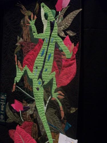 Lizard quilt