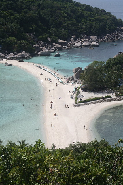 A view from Nangyuan Island, Thailand
