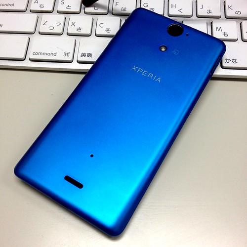 Xperia AX SO-01E (Turquoise blue)