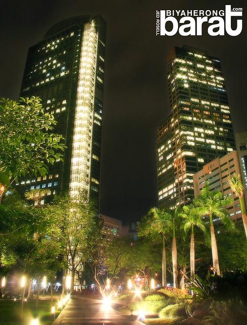 Makati stock exchange building and insular makati city