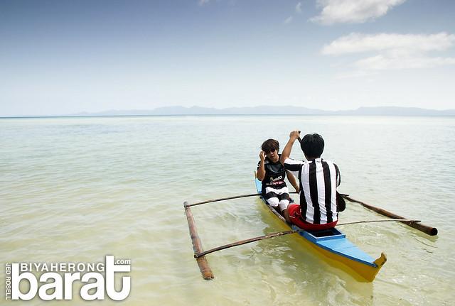 boating in Cagbalete Island