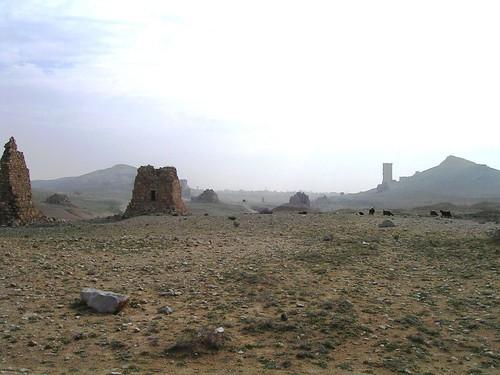 Palmira. Siria. El valle de las tumbas