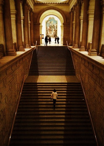 Going Up~ Metropolitan Museum by Eleven ~ NYC~