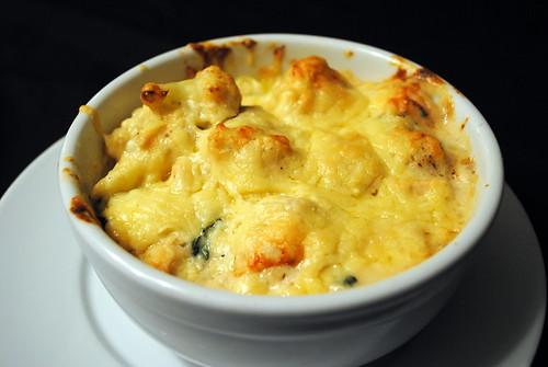 Chicken Spinach & Cauliflower Cheese Pots