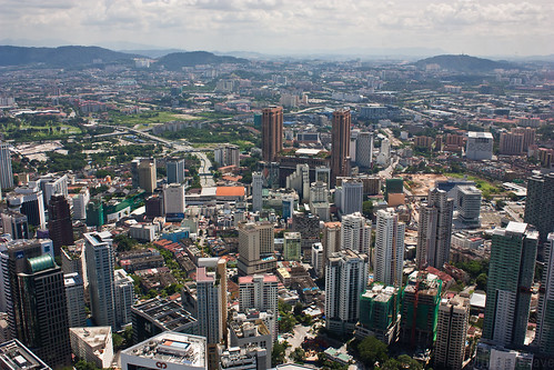 Kuala Lumpur city view from KL tower