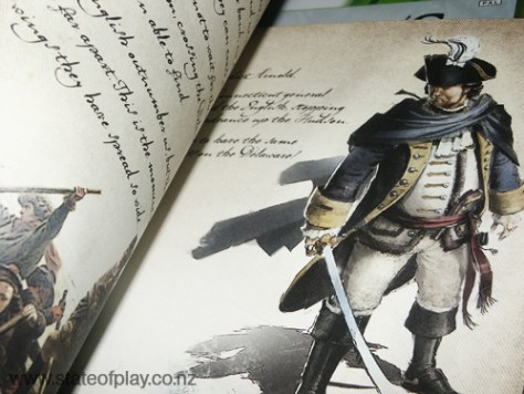 Inside Washington's notebook