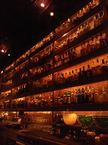 back bar at rickhouse