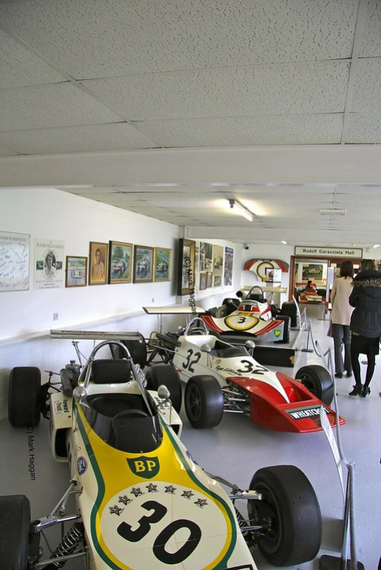 Some of Roger Williamson's cars at The Donington Collection