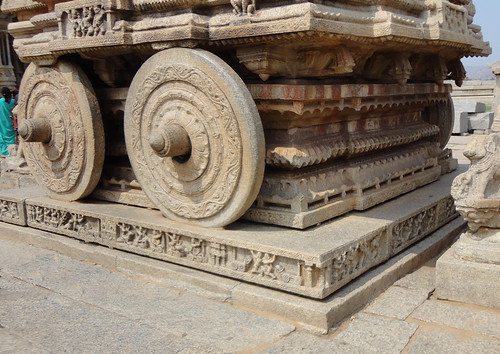 Wheels of Stone Chariot
