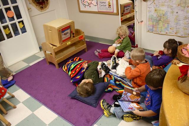 """""""tv"""" at preschool"""