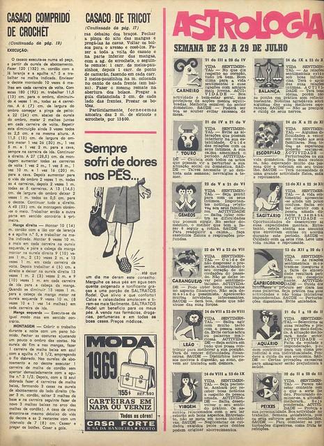Modas e Bordados, Nº 2998, Julho 23 1969 - 24 by Gatochy