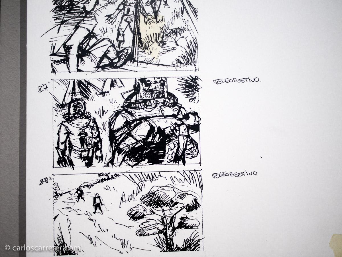Cuando el cine se hace oficio - Guionista (storyboard)