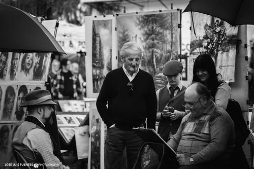 Artista en Piazza Navona