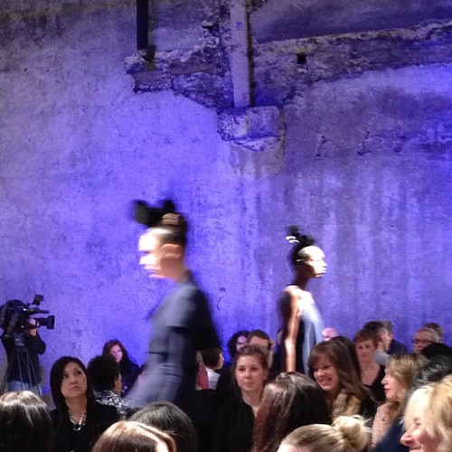 Greta Constantine SS2013 Runway, pretty but blurry