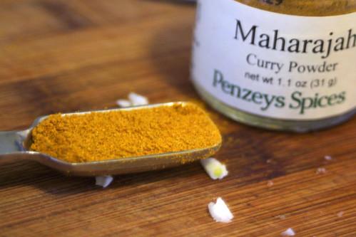Curry powder for lentil soup