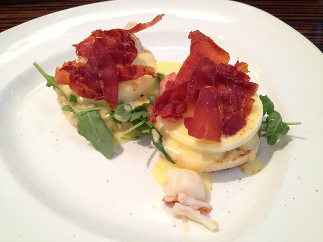 Lobster benedict - Twenty Five Lusk