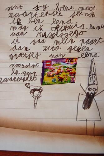 brief aan Sinterklaas