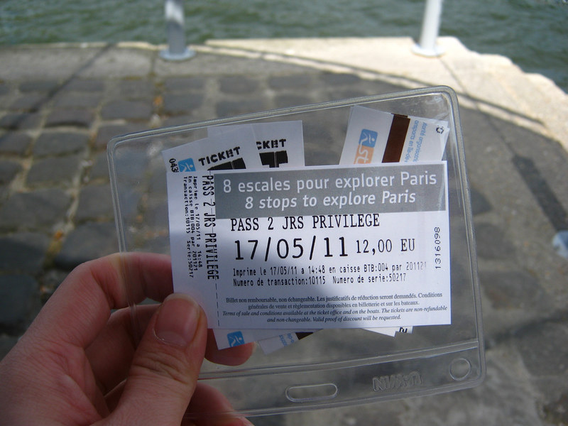 Tickets for Batobus
