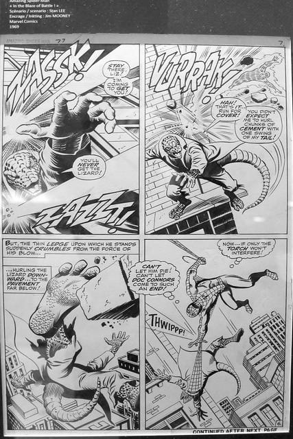 Spider-Man original artwork