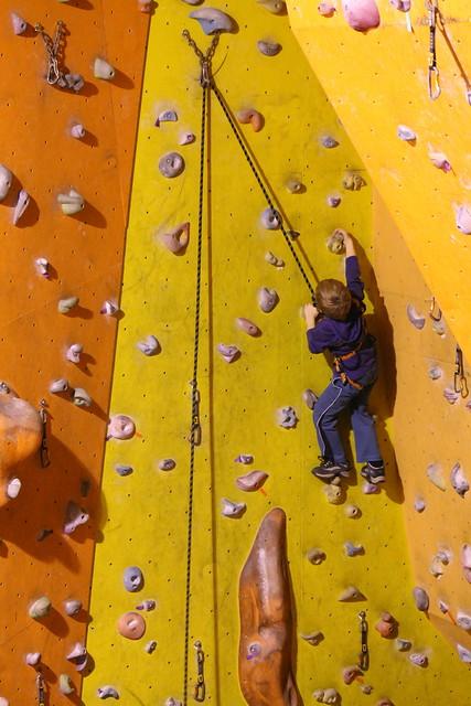 Kiddie climb