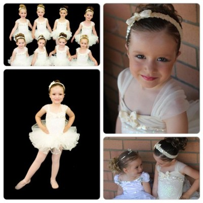 My beautiful ballerina Hannah in her end of year tutu