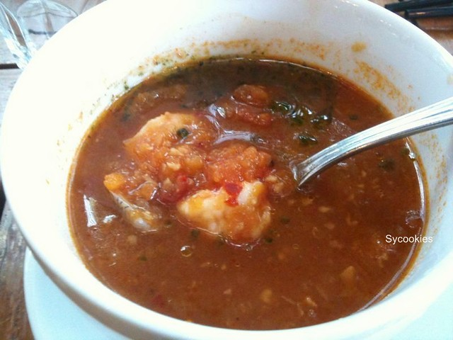 10.spicy seafood tomato soup