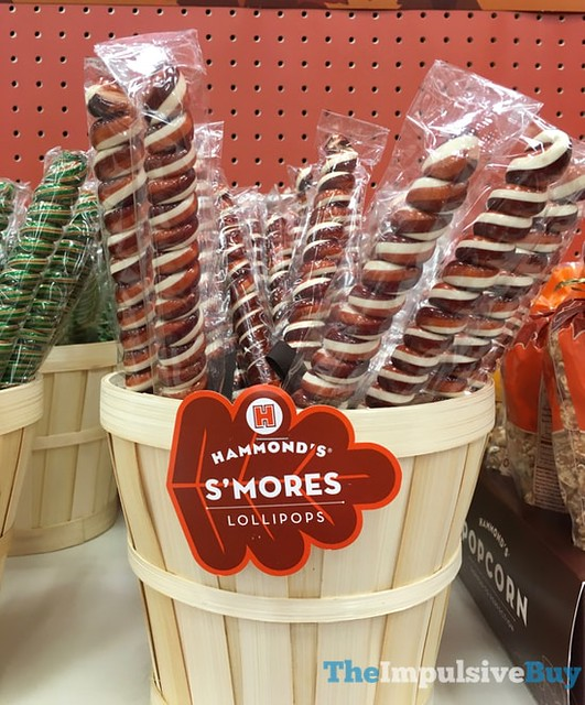 Hammond's S'mores Lollipops