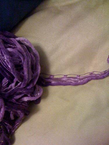 Ruffly yarn