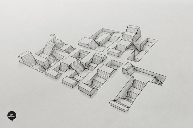 Moleskine illustration #61: Oh $h!t. (typography)