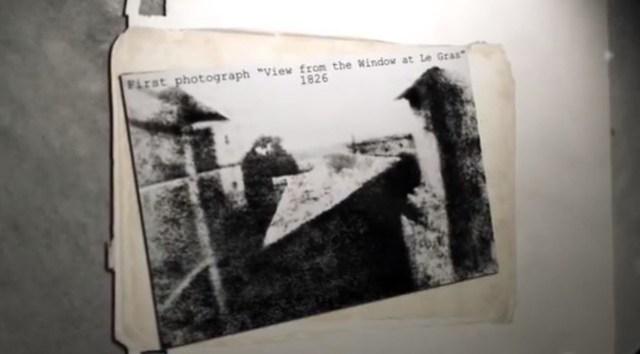 breve historia de la fotografia