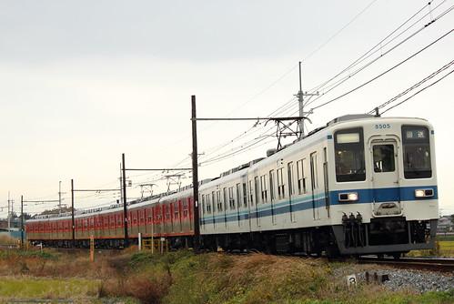 8505F+8111F @武州荒木〜東行田