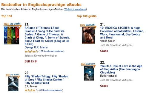#22 on Amazon.de