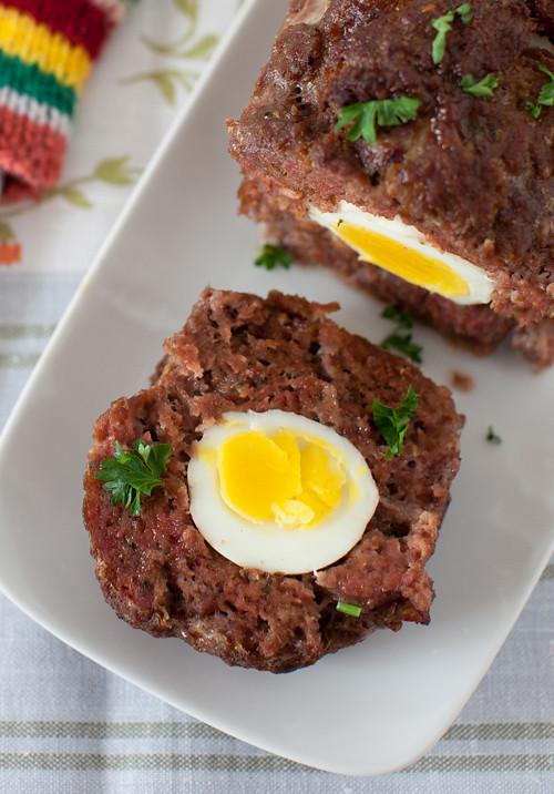 Meatloaf with Egg 2